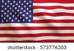 usa american flag background... | Shutterstock . vector #573776203