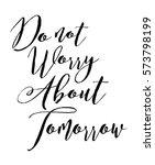 elegant typography calligraphy... | Shutterstock .eps vector #573798199
