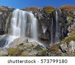 Waterfall Bunarfoss At...