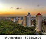 mirador sur dominican republic | Shutterstock . vector #573803608