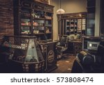 professional barber shop... | Shutterstock . vector #573808474