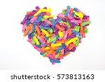 Balloon Mix For Heart