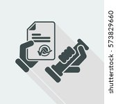 stamp icon | Shutterstock .eps vector #573829660