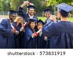 education  graduation ... | Shutterstock . vector #573831919