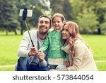 family  childhood  technology...   Shutterstock . vector #573844054