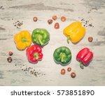 paprika   Shutterstock . vector #573851890