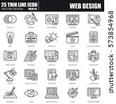 thin line web design and...