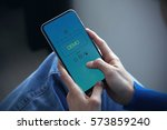 demo  technology concept | Shutterstock . vector #573859240
