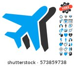 airlines pictograph with bonus...