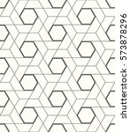 seamless vector geometric... | Shutterstock .eps vector #573878296