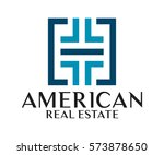 real estate  building ... | Shutterstock .eps vector #573878650