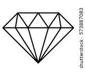 vector illustration of diamond... | Shutterstock .eps vector #573887083