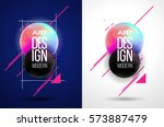 stylish vector illustration.... | Shutterstock .eps vector #573887479