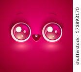 vector illustration of cute...   Shutterstock .eps vector #573893170