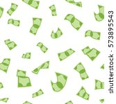 money seamless pattern   vector ... | Shutterstock .eps vector #573895543