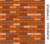brick wall texture cartoon...   Shutterstock .eps vector #573908518
