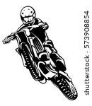 motorcycle races branding...   Shutterstock .eps vector #573908854