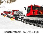 Snow Groomers For Ski Slopes...