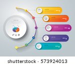 timeline infographics design... | Shutterstock .eps vector #573924013