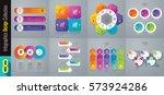 infographics design vector and...   Shutterstock .eps vector #573924286
