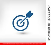target icon. one of set web...