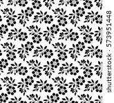 floral pattern. wallpaper... | Shutterstock .eps vector #573951448