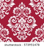 floral pattern. wallpaper... | Shutterstock .eps vector #573951478