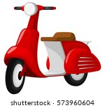 vector illustration of a red... | Shutterstock .eps vector #573960604