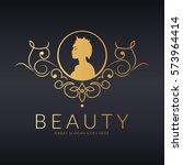beauty logo | Shutterstock .eps vector #573964414
