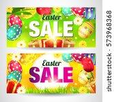 Easter. Sale Easter Card.