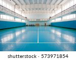 interior of a sport hall for... | Shutterstock . vector #573971854
