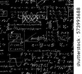 seamless pattern  mathematical...   Shutterstock . vector #573993688