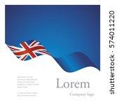 new brochure abstract design... | Shutterstock .eps vector #574011220