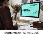 artistic imagination style... | Shutterstock . vector #574017856