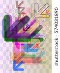 navigation pattern vector | Shutterstock .eps vector #574031890