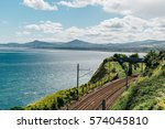Railway Near The Sea  Dublin...
