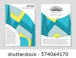 abstract vector layout... | Shutterstock .eps vector #574064170