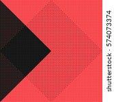 vector geometric seamless...   Shutterstock .eps vector #574073374