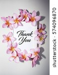 thank you word on the... | Shutterstock . vector #574096870