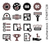 quality icon set | Shutterstock .eps vector #574097128