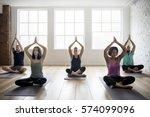 Yoga Practice Exercise Class...
