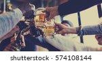 craft beer booze brew alcohol... | Shutterstock . vector #574108144