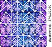 modern geometric vector design. ... | Shutterstock .eps vector #574133080
