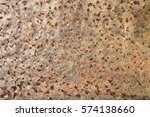 old rusted metal background ... | Shutterstock . vector #574138660