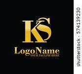 ks logo | Shutterstock .eps vector #574139230