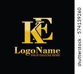 ke logo | Shutterstock .eps vector #574139260