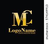 mc logo   Shutterstock .eps vector #574149913