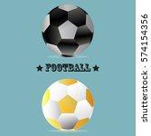 football icon vector | Shutterstock .eps vector #574154356