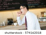 asia businessman not fesh ... | Shutterstock . vector #574162018