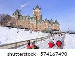Chateau Frontenac  Quebec City...